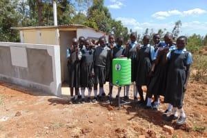 The Water Project: Khabukoshe Primary School -  Handwashing Station