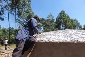 The Water Project: Bojonge Primary School -  Dome Construction