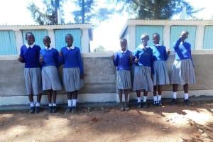 The Water Project: Lumakanda Township Primary School -  New Latrines