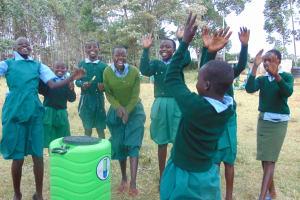 The Water Project: Bojonge Primary School -  Handwashing Station