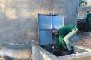 The Water Project: Esibila Secondary School -  Flowing Water