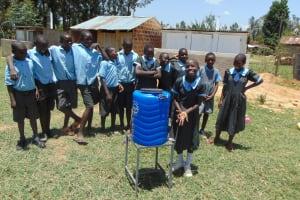 The Water Project: Namakoye Primary School -  New Handwashing Station
