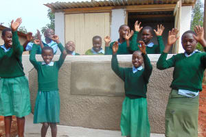 The Water Project: Bojonge Primary School -  Latrines