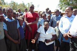 The Water Project: Khabukoshe Primary School -  Tank Care Training
