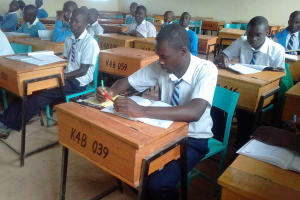 The Water Project: Kamimei Secondary School -  Students In Class