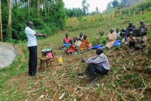 The Water Project: Ngeny Barak Community, Ngeny Barak Spring -  Handwashing Training