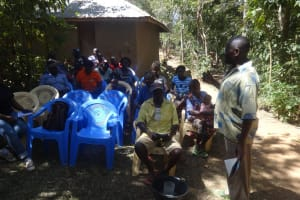 The Water Project: Emulakha Community, Nalianya Spring -  Training