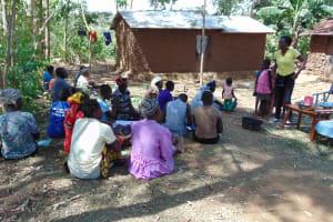 The Water Project: Musango Community, Mwichinga Spring -  Training