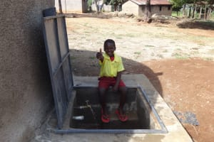 The Water Project: Shibinga Primary School -  Flowing Water