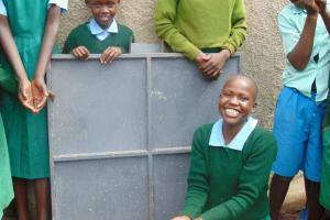 The Water Project: Bojonge Primary School -  Water Flowing