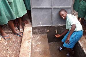 The Water Project: Bojonge Primary School -  Smile From Dickson Kipruto