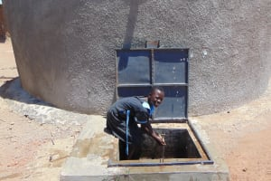 The Water Project: Namakoye Primary School -  Fetching Water