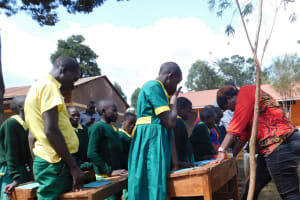 The Water Project: Majengo Primary School -  Training