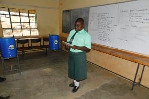 The Water Project: Esibila Secondary School -  Training