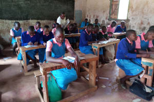 The Water Project: Kimangeti Primary School -  Students In Class