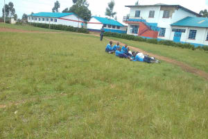 The Water Project: Kamimei Secondary School -  Students On School Grounds