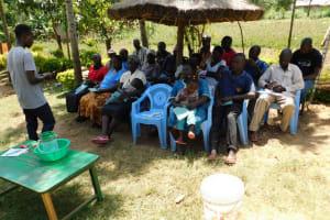 The Water Project: Mukangu Community, Lihungu Spring -  Dental Hygiene Training
