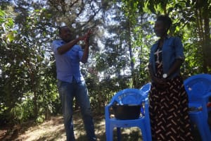 The Water Project: Emulakha Community, Nalianya Spring -  Handwashing Training