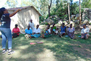 The Water Project: Bukhaywa Community, Asumani Spring -  Training