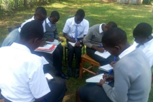 The Water Project: Ebubere Mixed Secondary School -  Training Group Discussions