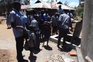 The Water Project: Matungu SDA Special School -  Tank Care Training