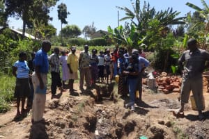 The Water Project: Emulakha Community, Nalianya Spring -  Spring Care Training