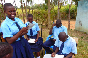 The Water Project: Musango Mixed Secondary School -  Group Discussions