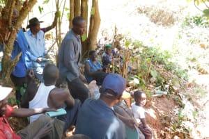 The Water Project: Shitsuvio Community, Shihevi Spring -  Training