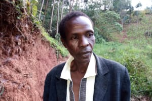 The Water Project: Bumira Community, Imbwaga Spring -  Benjamin Ambani
