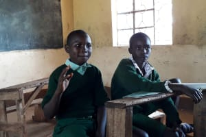 The Water Project: Bojonge Primary School -  Kipruto Dickson Responding To A Question