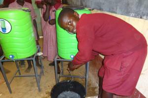 The Water Project: Irobo Primary School -  Handwashing Training