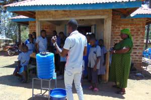 The Water Project: Matungu SDA Special School -  Handwashing Training