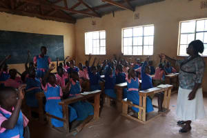 The Water Project: Kimangeti Primary School -  More Students In Class