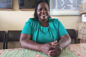 The Water Project: Kimangeti Girls' Secondary School -  Principal Mable Litu