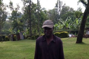 The Water Project: Shikangania Community, Abungana Spring -  Carrying Water