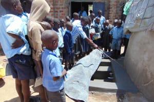 The Water Project: Namakoye Primary School -  Tank Care Training