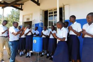 The Water Project: Namasanda Secondary School -  Handwashing Training