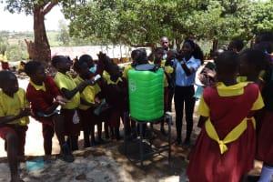 The Water Project: Shibinga Primary School -  Handwashing Training