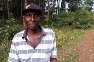 The Water Project: Shamakhokho Community, Imbai Spring -  Joseph Imbai