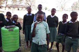 The Water Project: Bojonge Primary School -  Handwashing Training