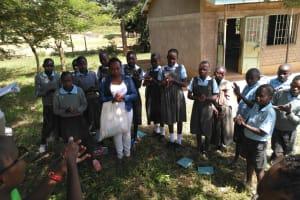 The Water Project: Khabukoshe Primary School -  Handwashing Training