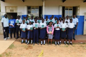 The Water Project: Namasanda Secondary School -  Group Picture
