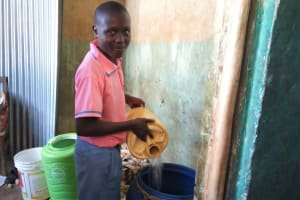 The Water Project: Irovo Orphanage Academy -  Water Storage