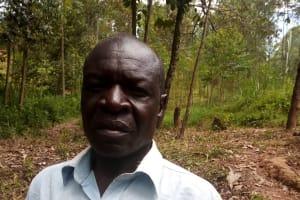The Water Project: Shivembe Community, Murumbi Spring -  Francis Ikudwa