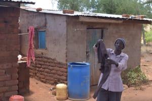 The Water Project: Kathonzweni Community -  Clothesline