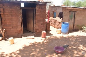 The Water Project: Kathonzweni Community -  Water Storage In The Compound