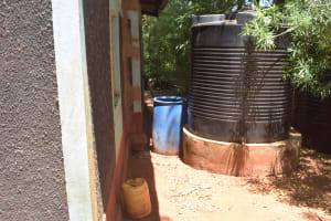 The Water Project: Ngitini Community D -  Large Water Storage Container