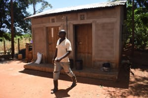 The Water Project: Ngitini Community D -  Walking Out Of Kitchen