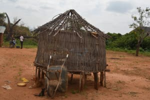 The Water Project: Wamwathi Community -  Chicken Coop