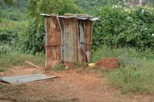 The Water Project: Wamwathi Community -  Latrines